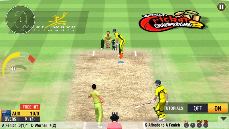 Mix · World Cricket Championship 2 MOD APK+OBB File Android