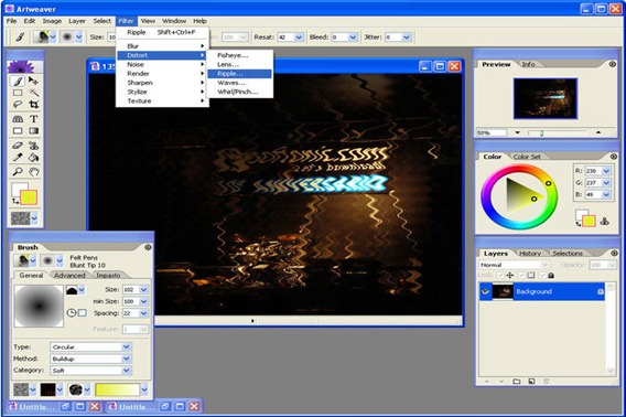 p s photo editor download