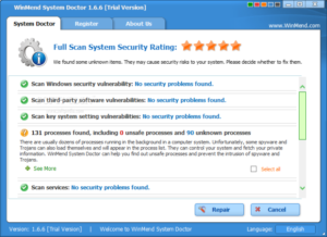 Winmend system doctor 2.1.0 Crack Download Free