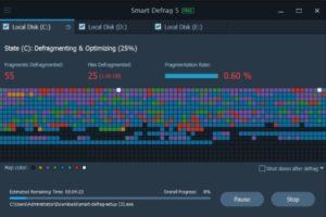 Smart Defrag 5.4.0 Crack with serial key Free Download