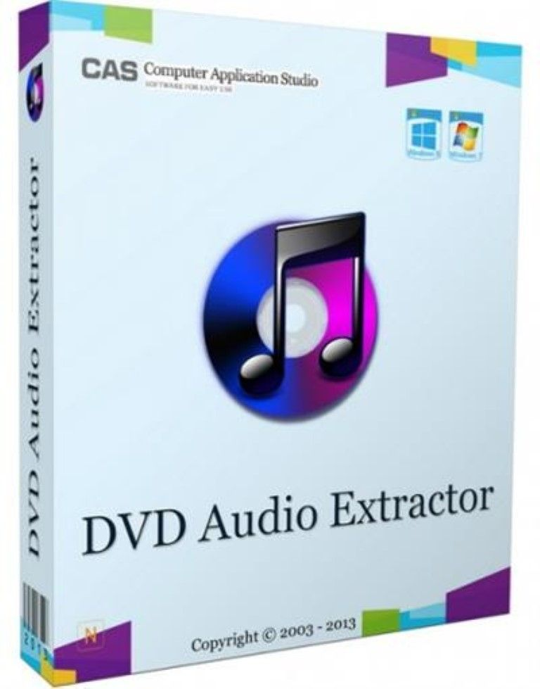 dvd audio extractor license key