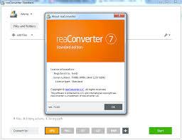 ReaConverter Pro 7 Crack + Activation key Free Download