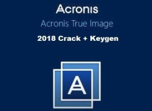 Acronis True Image 2018 Crack + License Key Free Download