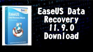 Easeus data recovery 11.9 crack + License Key Free Download