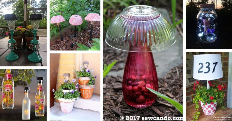 Creative Gardens Using Solar Lights
